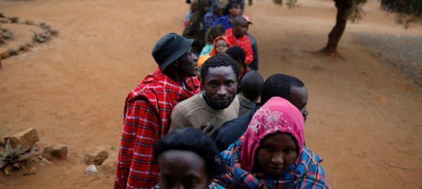 polling stations across Kenya