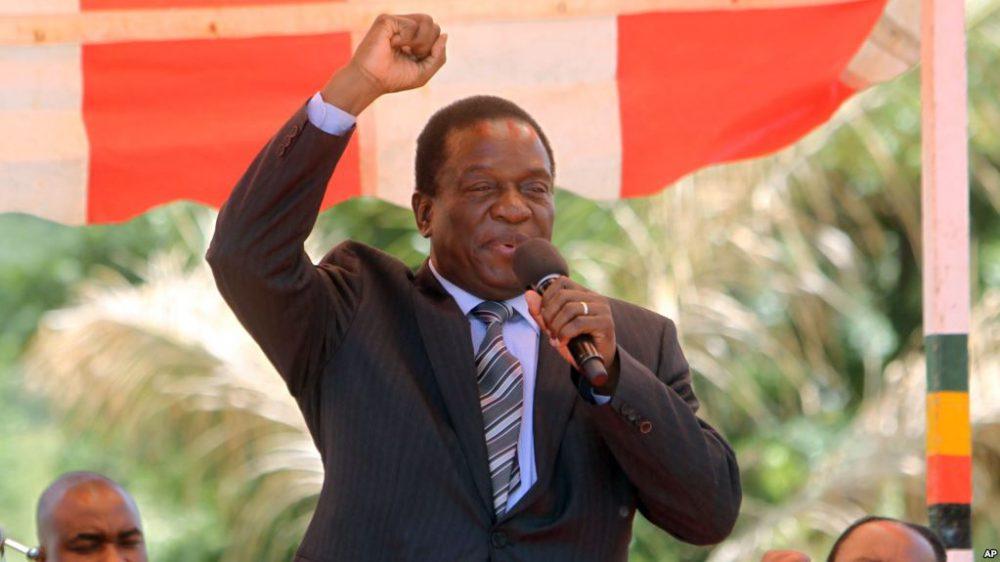 New President Plans Zimbabwe Revival by Restoring Economy, Democracy