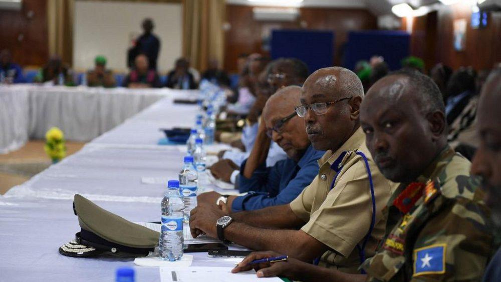 AMISOM leaders endorse Somalia's security responsibilities